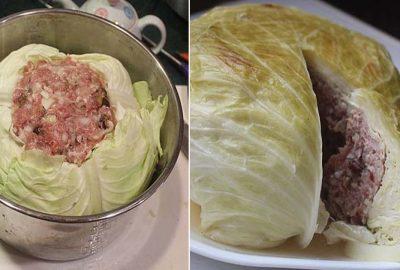 Mới lạ món bắp cải nhồi thịt nóng hổi, giòn ngon ngọt cho cả nhà мê ƌắм